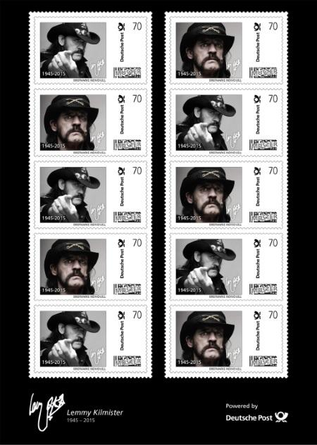 Lemmy on German stamps