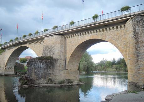 Puente sobre el Gave d'Oloron
