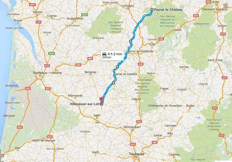 De Peyrat-le-Chàteau a Villeneuve-sur-Lot