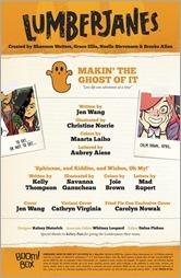 Lumberjanes: Makin' the Ghost of It 2016 Special #1 Preview 1