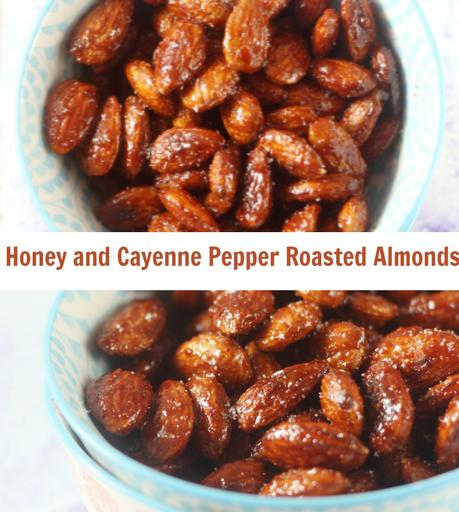 Honey and Cayenne Pepper Roasted Almonds