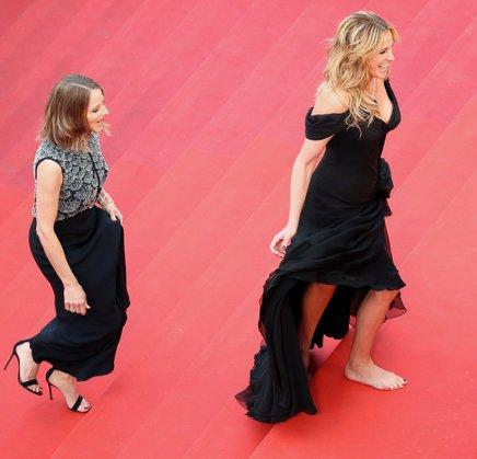 Cannes film festival ~ walking bare foot and premiere of 100 years Movie