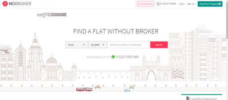 NoBroker Makes Renting Houses More Convenient
