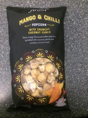 Today's Review: Tesco Finest Mango & Chilli Popcorn
