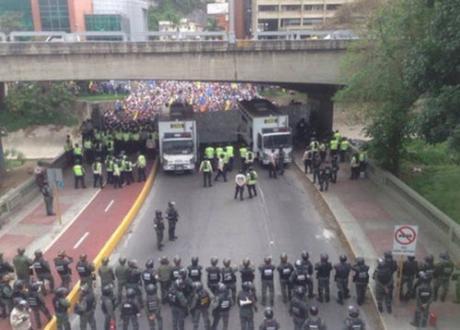 Caracas on May 13, 2016