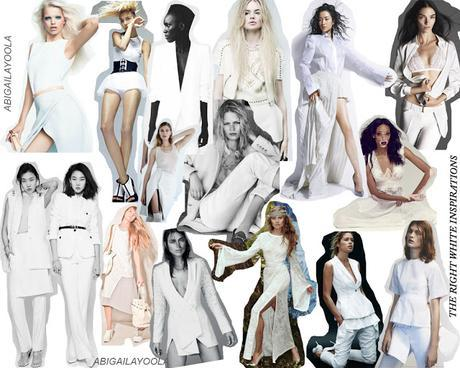 MAY INSPIRATIONS | WHITE HERE, WHITE NOW