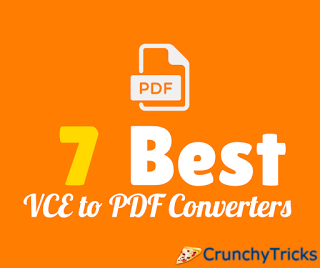 7 Best VCE to PDF Converters (Online+Offline)