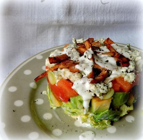 Layered Cobb Salad - Paperblog