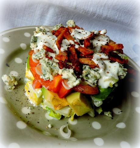 ... cobb salad lavender lynn layered cobb salad framed layered cobb salad