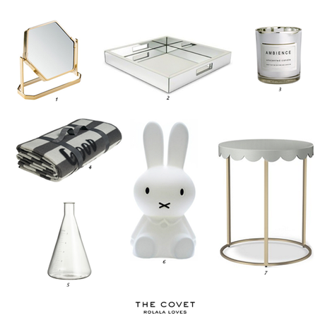Home Decor, Nate Berkus, Threshold Tray, H&M Home, Miffy Lamp