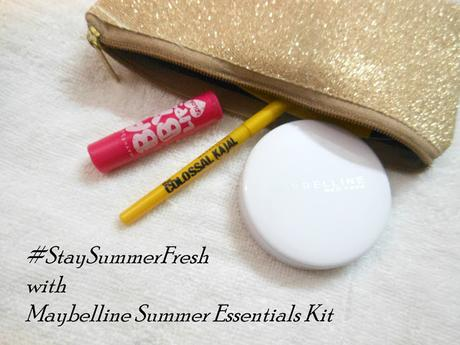 Stay Summer Fresh with Maybelline's Summer Essentials Kit // Review, Swatches & Photos