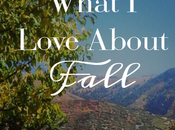 What Love About Fall Part