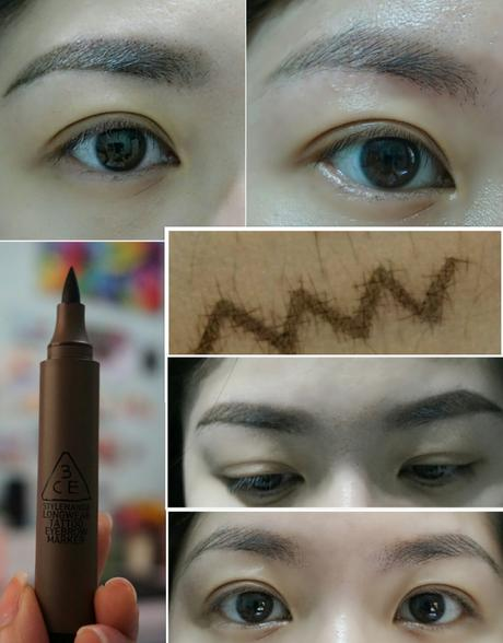 3CE eyebrow tattoo marker that last for a week