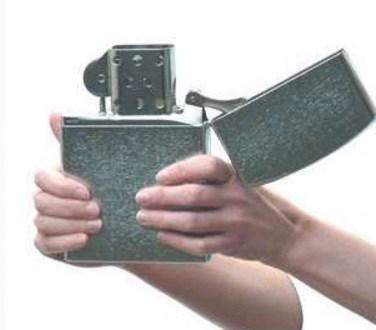 Jumbo Zippo Lighter