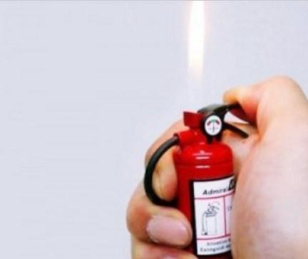 Cute Fire Extinguisher Lighter