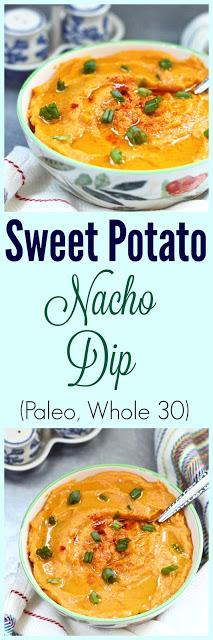 Sweet Potato Nacho Dip and Ditch The Wheat Cookbook Review (Paleo, Dairy Free, Whole 30)