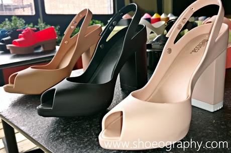 dfc7376d2fd Shoe of the Day   Melissa Shoes Classic Lady Heels - Paperblog