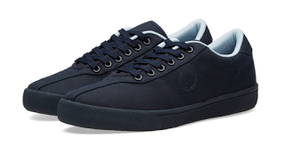 Playing In The Rain:  Fred Perry Reissue Tennis Shoe 2 'Rain Stops Play'
