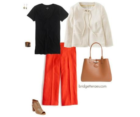 Culottes and Wide Leg Cropped Pants for Work