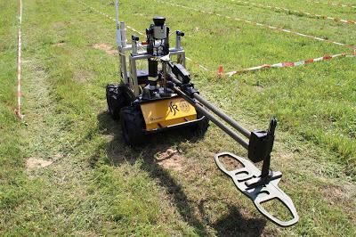 Landmine Defusing Challenge at ICRA Sweden selects Sastra Robotics for Finals