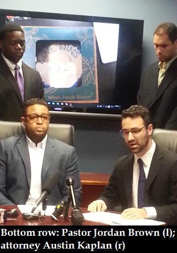 Jordan Brown sues Whole Foods for gay slur on cake