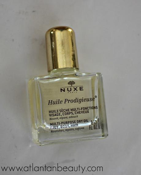 Nuxe Huile Prodigieuse Multi-Purpose Dry Oil for Face, Body, and Hair
