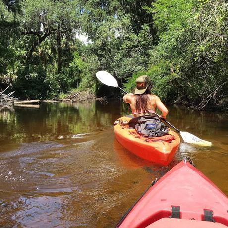 Sometimes to Get to the Good Stuff, You've Got to Paddle Upstream