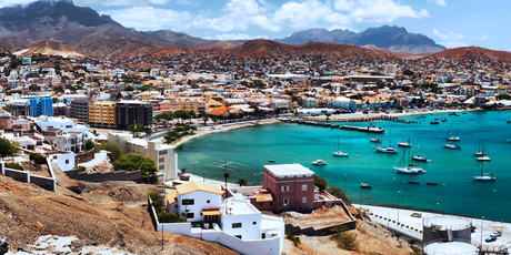 The Cape Verde islands