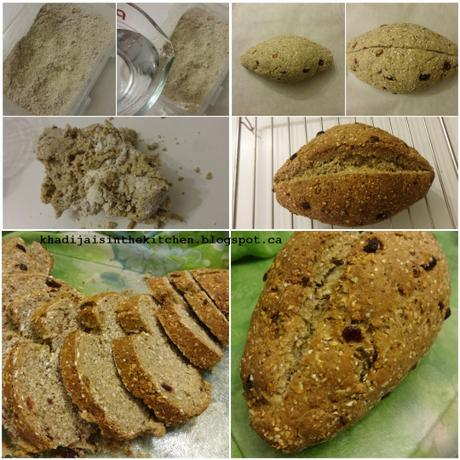 PAIN DE LA SEMAINE: PAIN AUX CÉREALES GRANOLA / BREAD OF THE WEEK: GRANOLA CEREAL BREAD / PAN DE LA SEMANA: PAN CON CEREALES DE GRANOLA / خبز الاسبوع : خبز الكرانولا (خليط حبوب الشوفان و الفواكه الجافة)