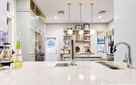 Is this kitchen TOO glamorous? A dramatic kitchen renovation