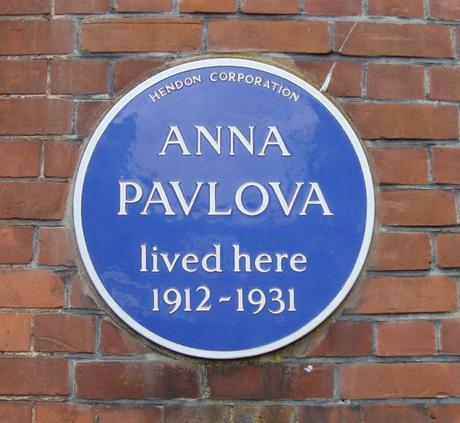 #plaque366 Anna Pavlova