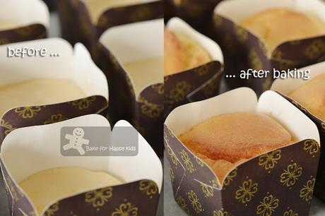 Liu Sha Salted Egg Yolk Hokkaido Chiffon Cupcakes with real Flowy Custard Cream 流沙北海道牛奶蛋糕