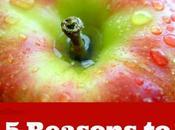 Reasons More Apples!