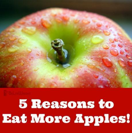 5 Reasons to Eat More Apples!