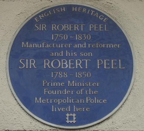 #plaque366 Robert Peel