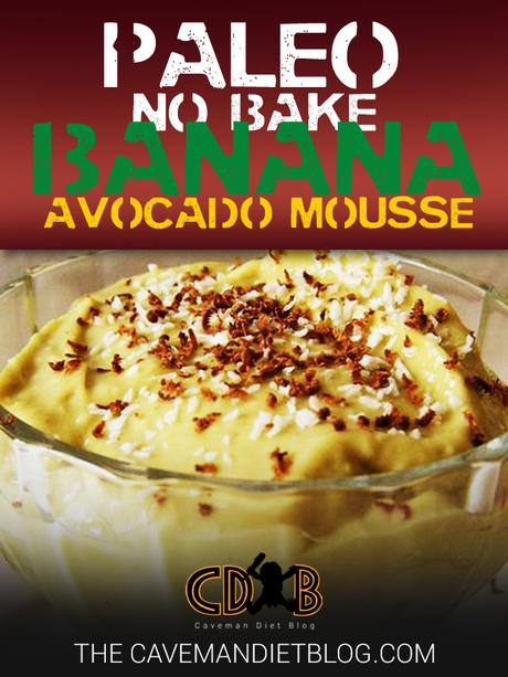 Paleo Dessert Recipes Banana Avocado Mousse Main Image