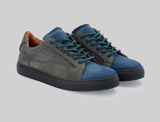 Low-Down And Handsome:  Christian Kimber Siglo Low-Top Sneaker