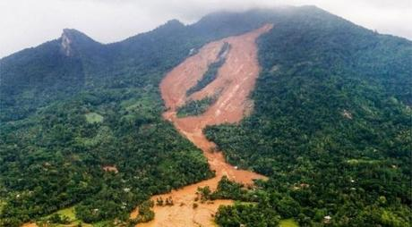 heavy rains and massive landslides cause havoc in Sri Lanka