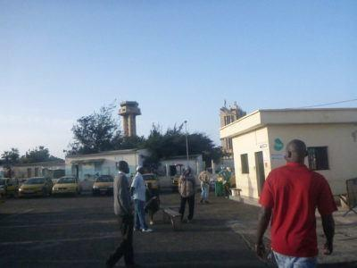 Arrival in Dakar, Senegal