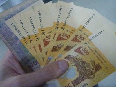 West African Francs in Senegal
