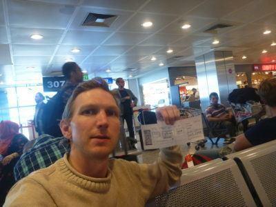 Arrival in Turkey