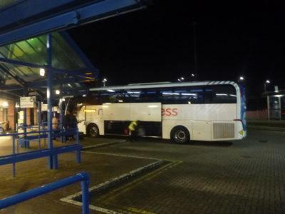 Bus to Gatwick Airport, South London