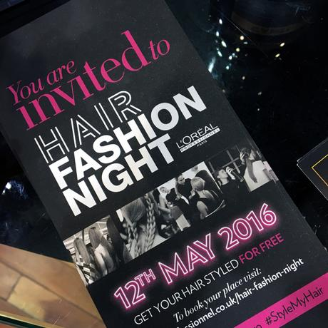 Hello Freckles Loreal Hair Fashion Night Y Salon Newcastle Reverse Braids