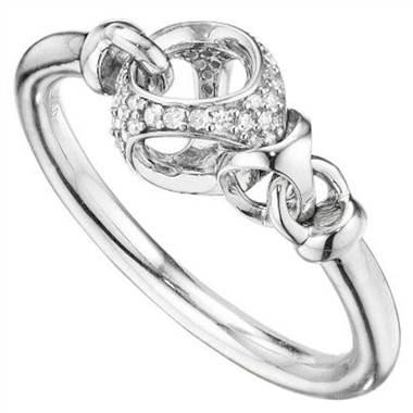 Dimodolo R301-S2 Linked by Love Pave Diamond Fashion Ring at Solomon Brothers
