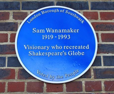 #plaque366 Sam Wanamaker