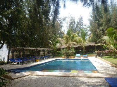 Swanky resort