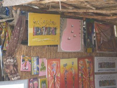 Souvenirs at Lac Rose