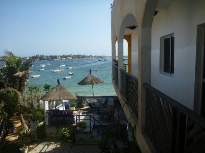 Staying at Maison Abaka, N'Gor Beach, Dakar, Senegal