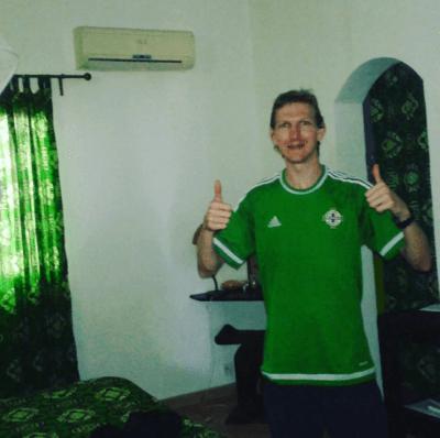 My cosy room at Maison Abaka Senegal