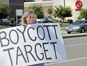 Target after tranny bathroom policy: sales down 5%; stock down 10%